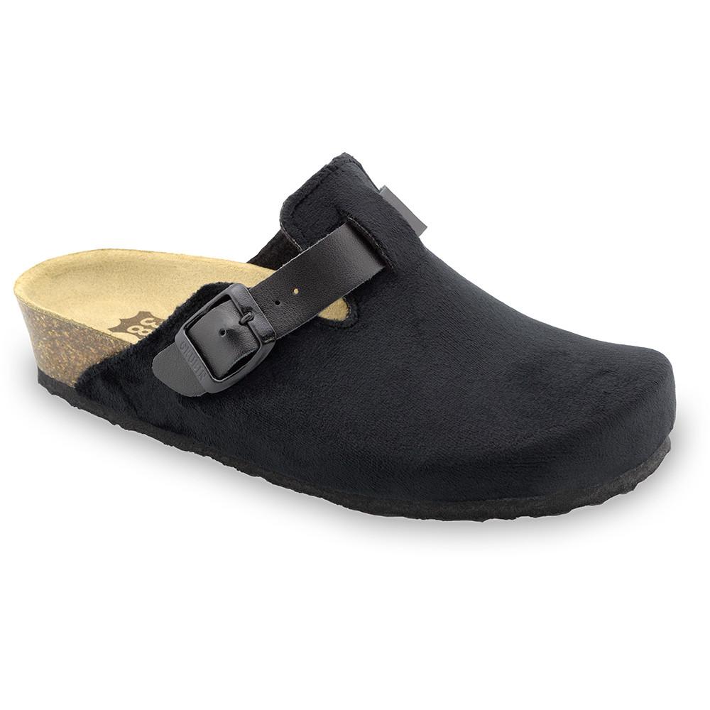 RIM domowe zimowe buty damskie - plusz (36-42) - czarny, 40
