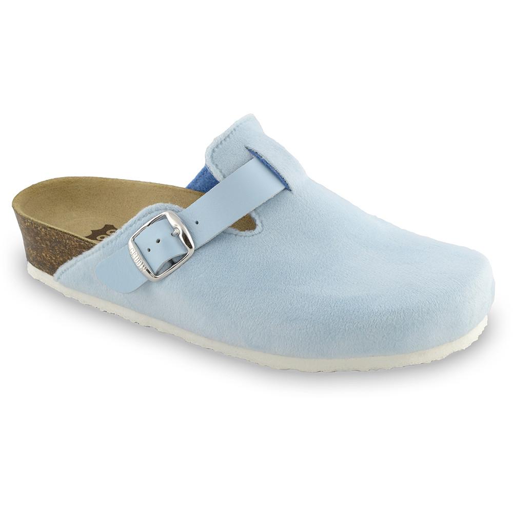 RIM domowe zimowe buty damskie - plusz (36-42) - jasnoniebieski, 36
