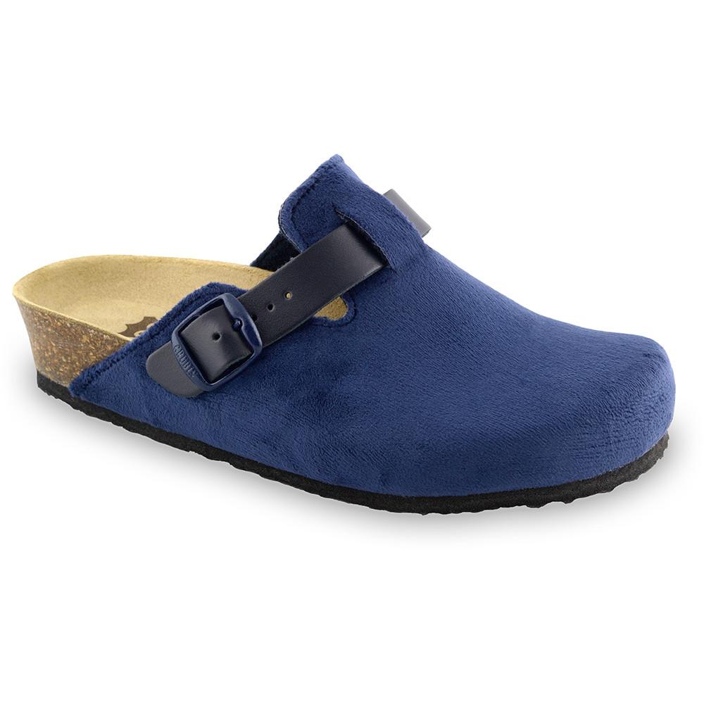 RIM domowe zimowe buty damskie - plusz (36-42) - niebieski, 37