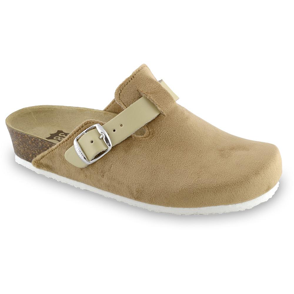 RIM domowe zimowe buty damskie - plusz (36-42) - brązowy, 38