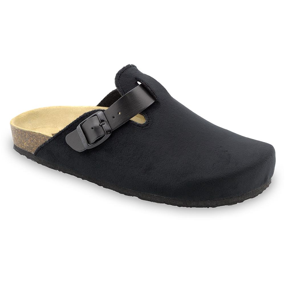 RIM zimowe buty domowe dla mężczyzn - plusz (40-49) - czarny, 49