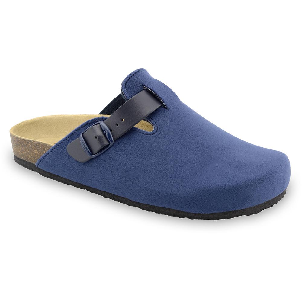 RIM zimowe buty domowe dla mężczyzn - plusz (40-49) - niebieski, 46