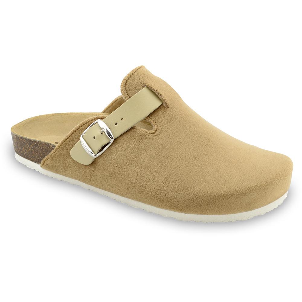 RIM zimowe buty domowe dla mężczyzn - plusz (40-49) - kremowy, 47