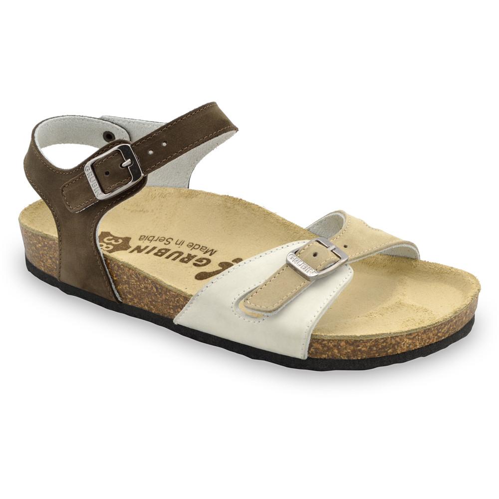 RIO sandały dla kobiet - skóra (36-42) - kolorowy, 42