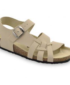 PISA damskie skórzane sandały (36-42)