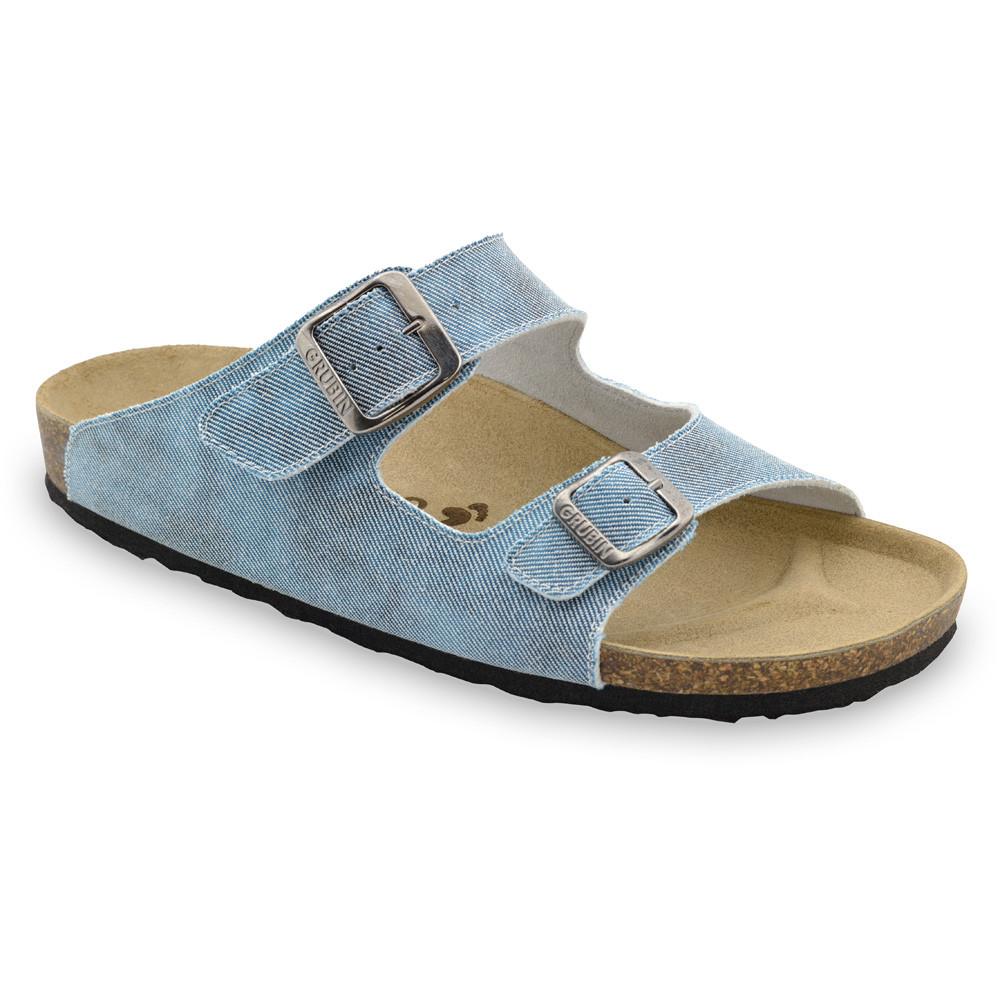 KAIRO kapcie dla mężczyzn - tkanina (40-49) - jasnoniebieski, 45