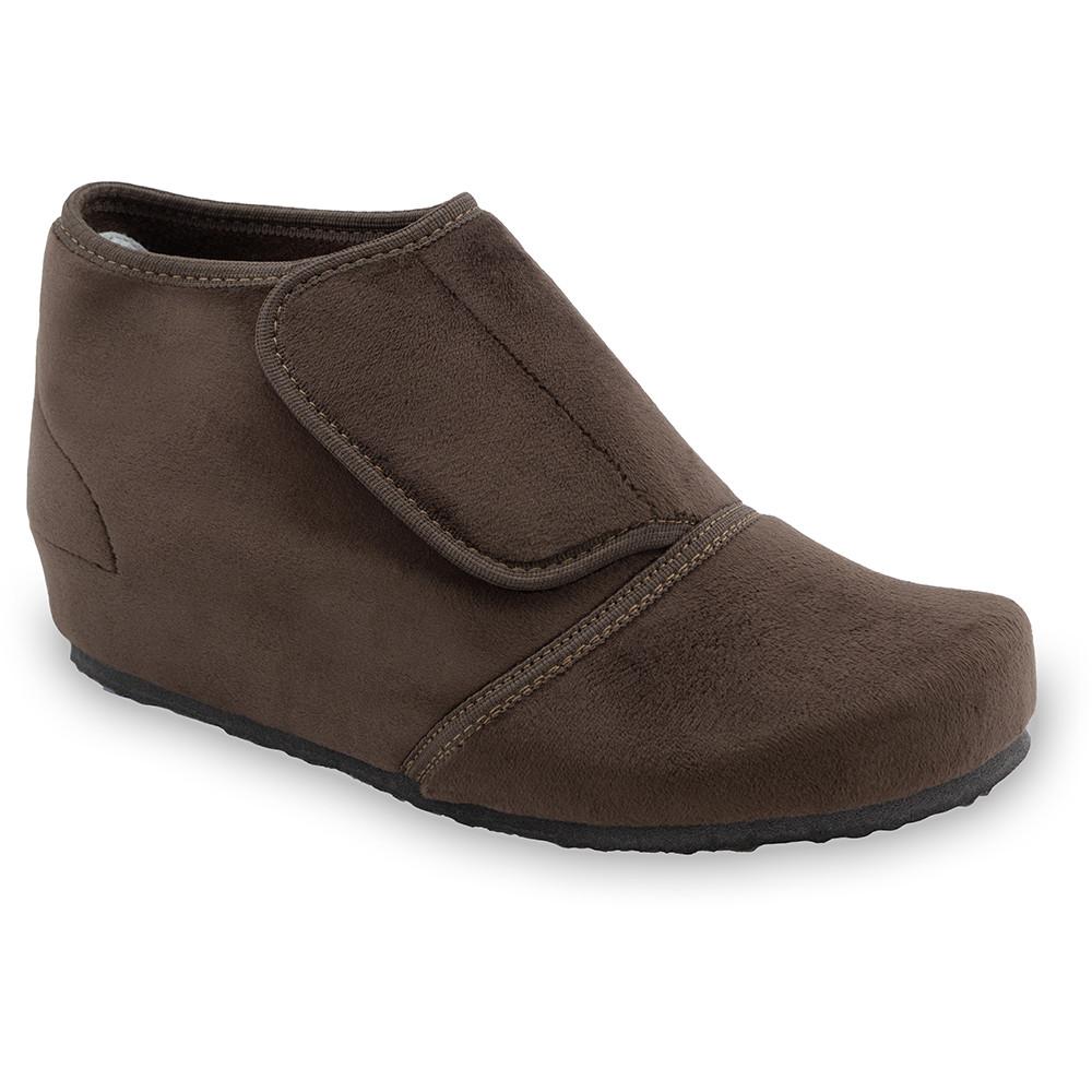 BAJKA domowe zimowe buty damskie - plusz (36-42) - brązowy, 39