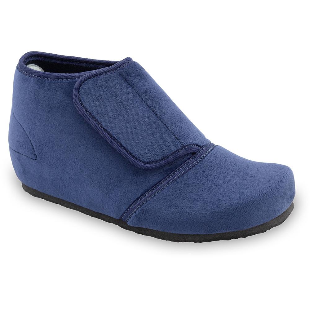 BAJKA domowe zimowe buty damskie - plusz (36-42) - niebieski, 38