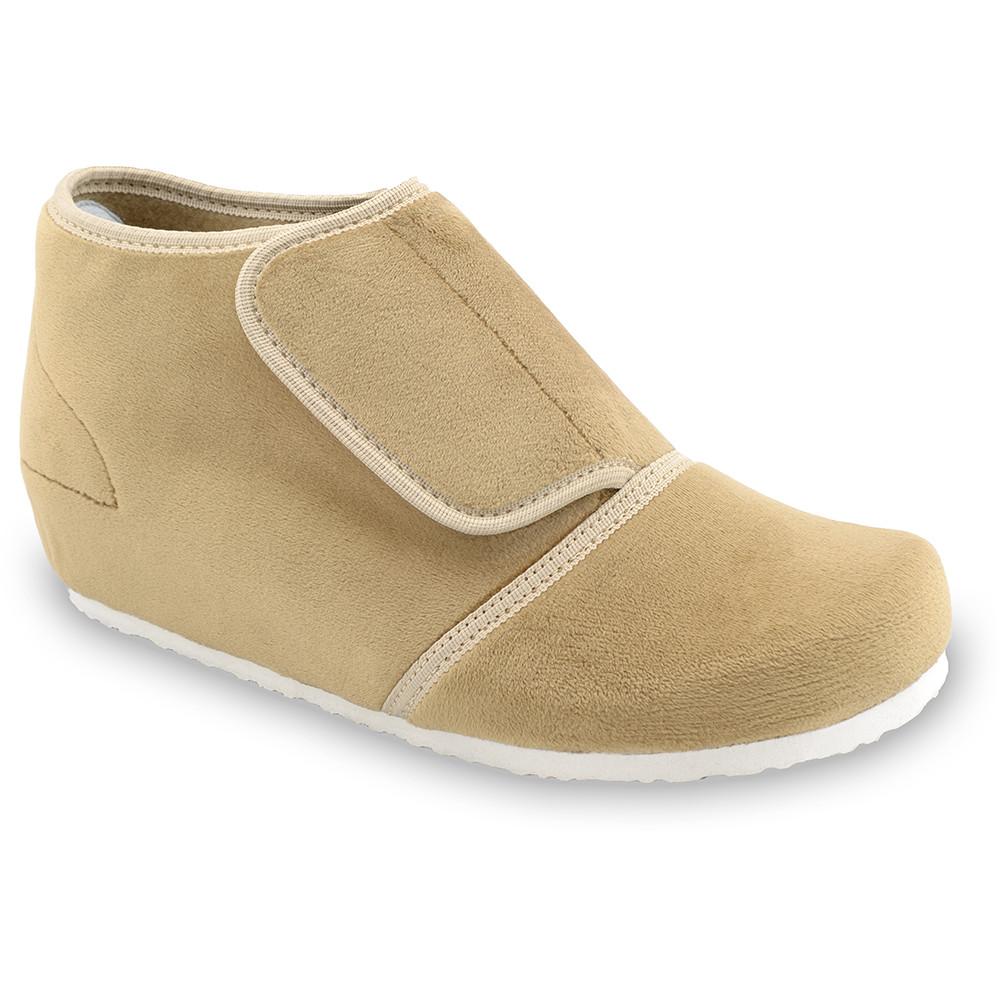 BAJKA domowe zimowe buty damskie - plusz (36-42) - jasnobrązowy, 40