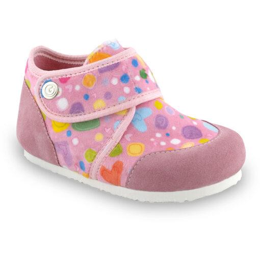 KINDER domowe obuwie zimowe dla dzieci - plusz (23-35)