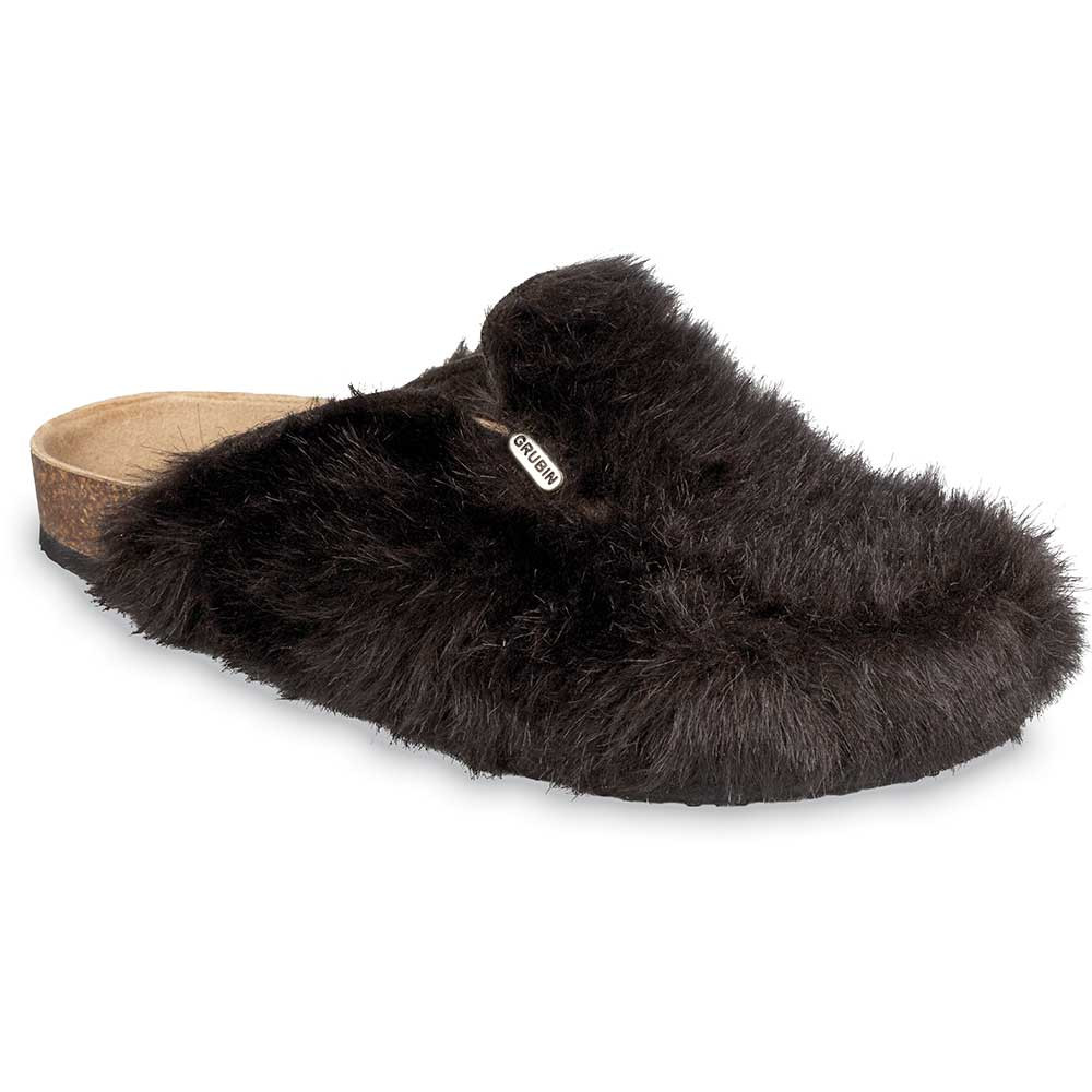QUEBEC domowe zimowe buty dla mężczyzn - (40-49) - brązowy, 45