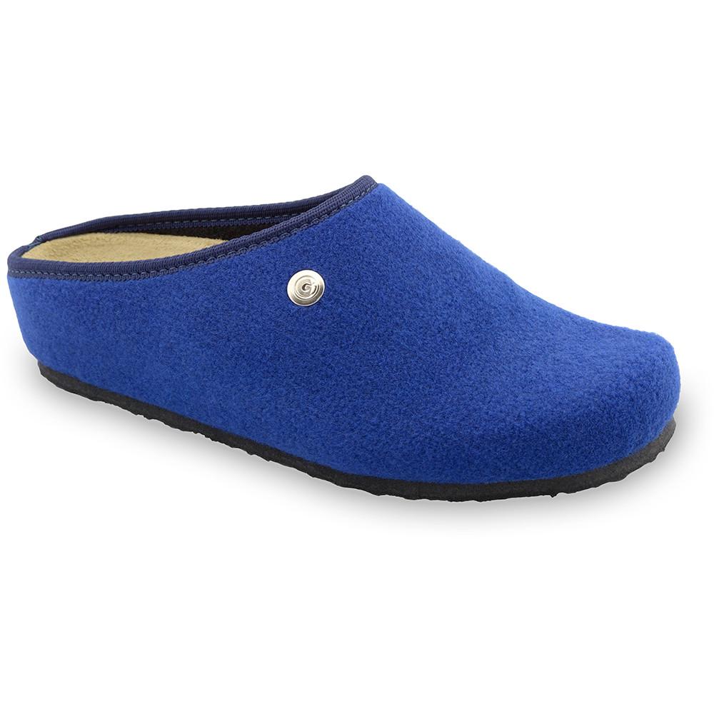 RABBIT domowe zimowe buty damskie - filc (36-42) - niebieski, 36
