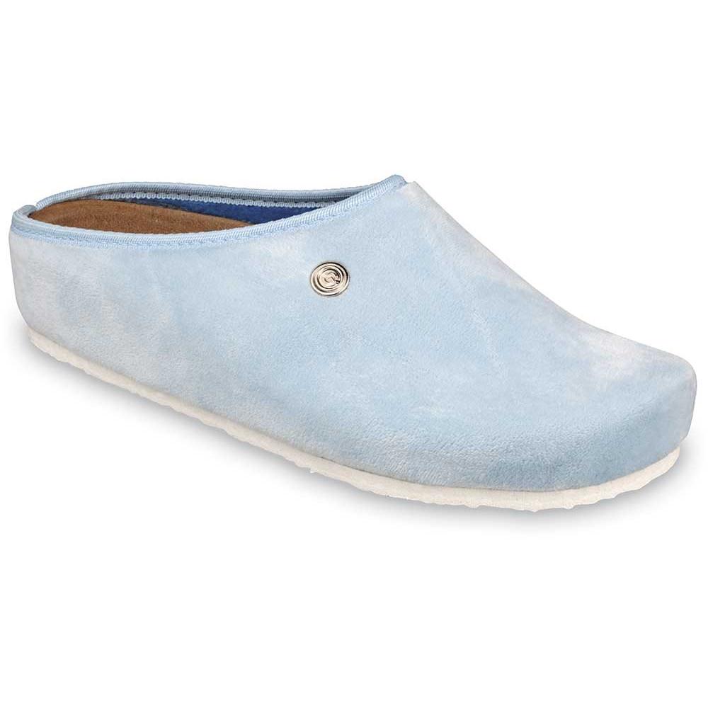 RABBIT domowe zimowe buty damskie - plusz (36-42) - jasnoniebieski, 36