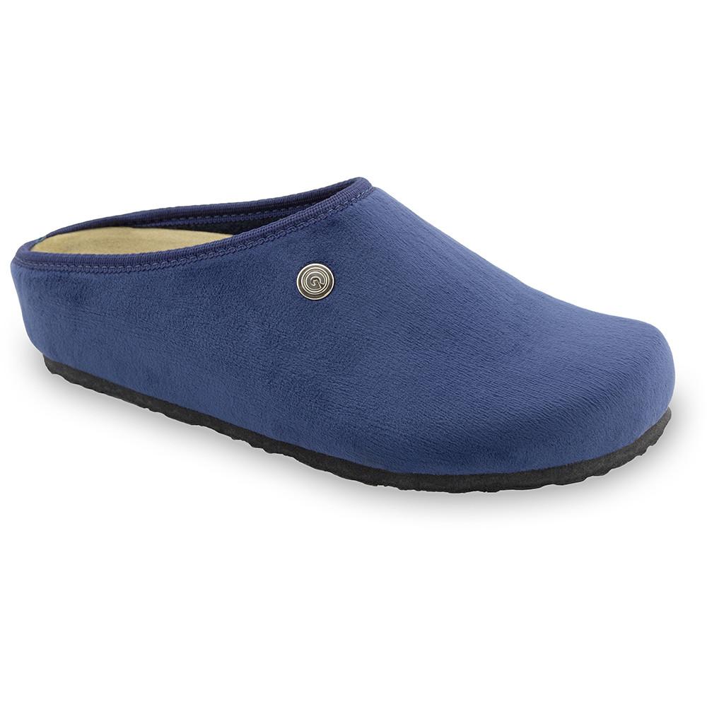 RABBIT domowe zimowe buty damskie - plusz (36-42) - niebieski, 38