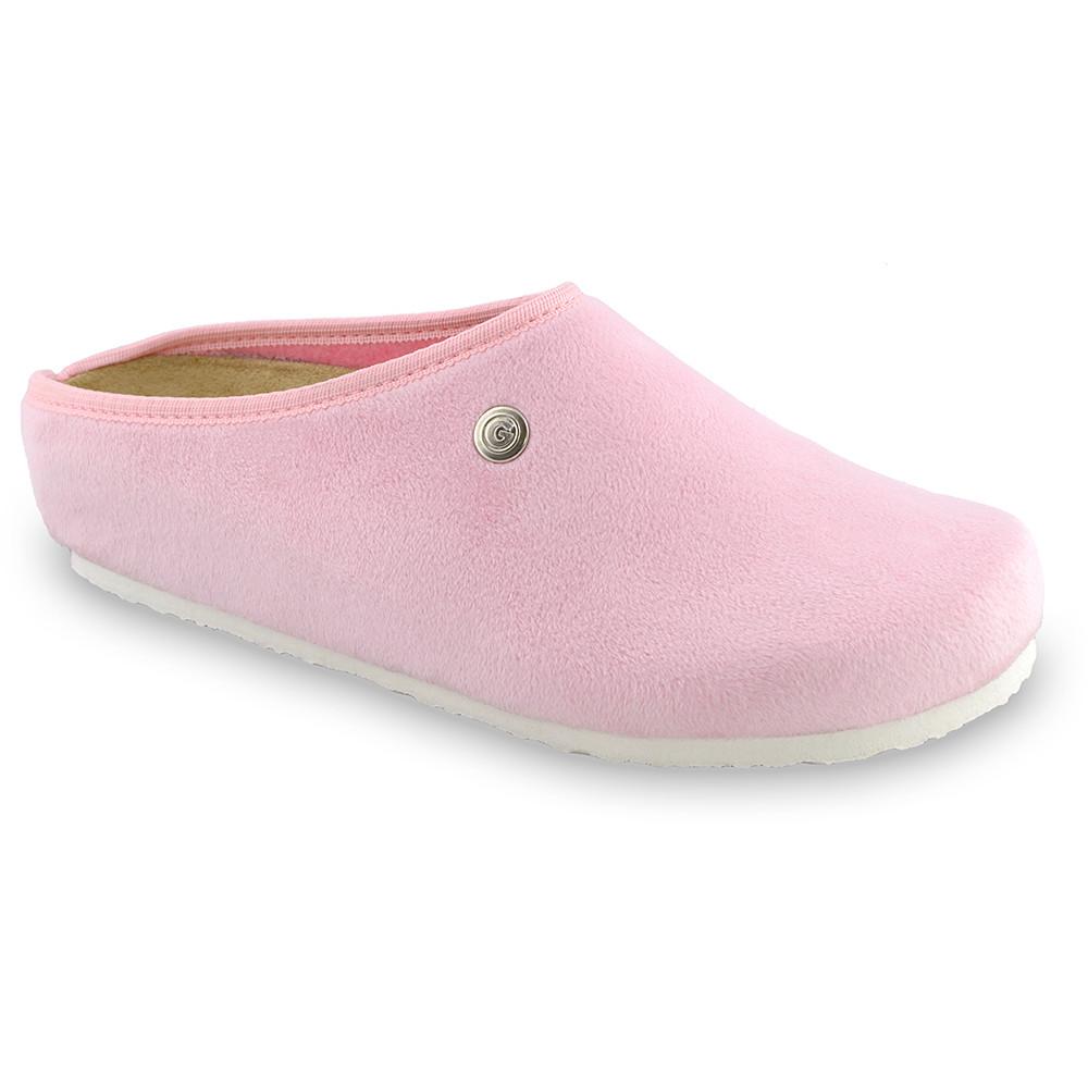 RABBIT domowe zimowe buty damskie - plusz (36-42) - jasnoróżowy, 37