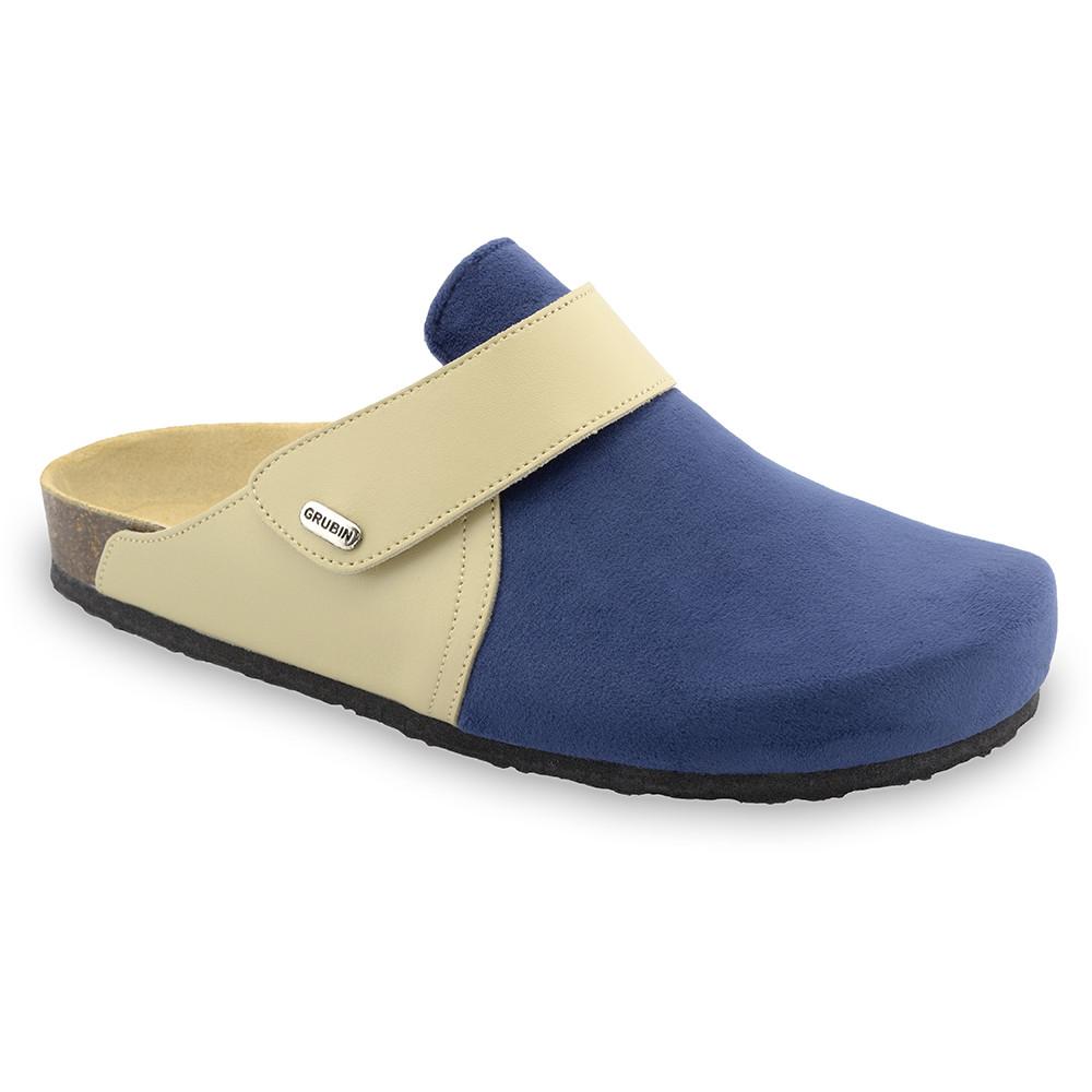 OREGON zimowe buty domowe dla mężczyzn - plusz (40-49) - niebieski, 44