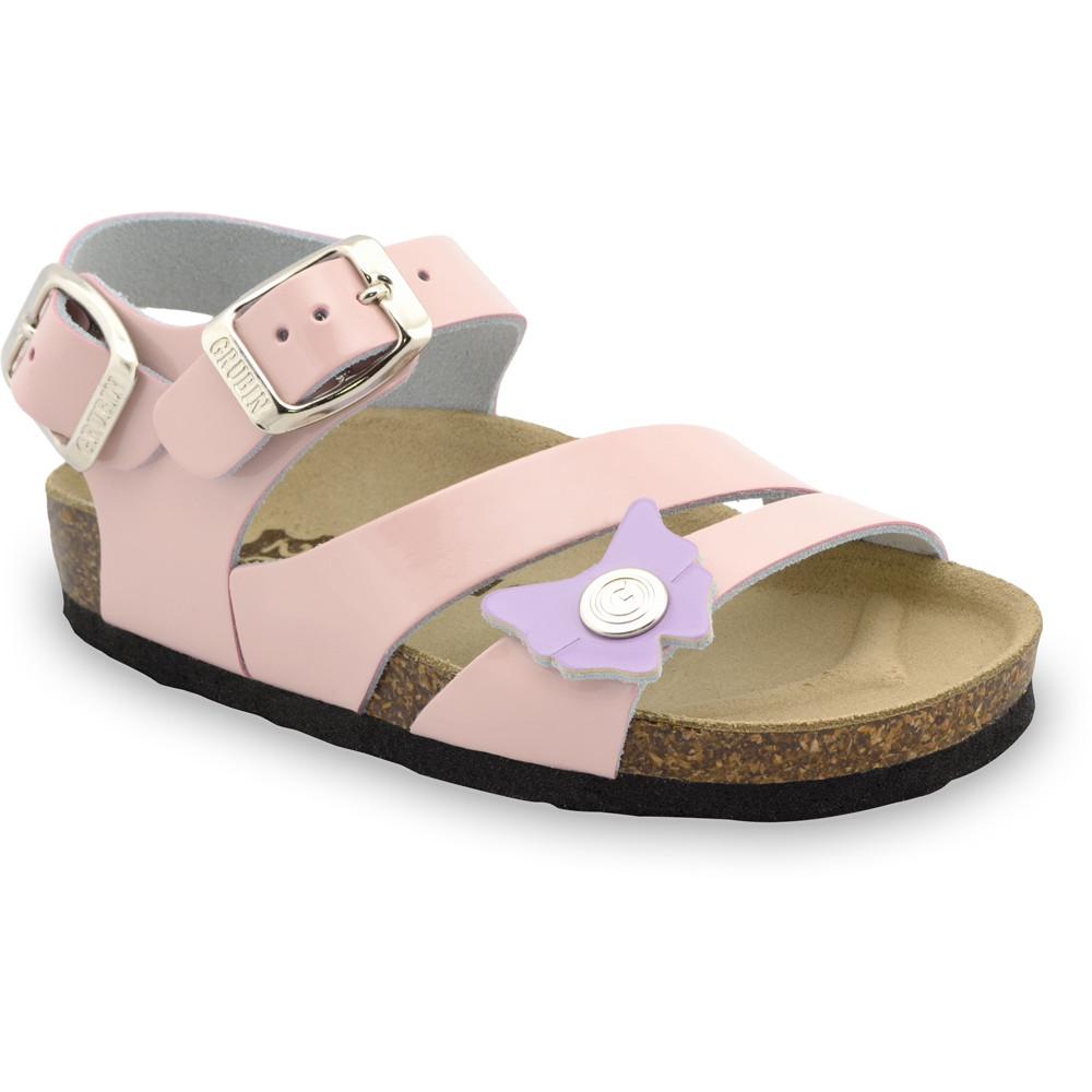KATY sandały dla dzieci - skóra (23-29) - kremowy, 26