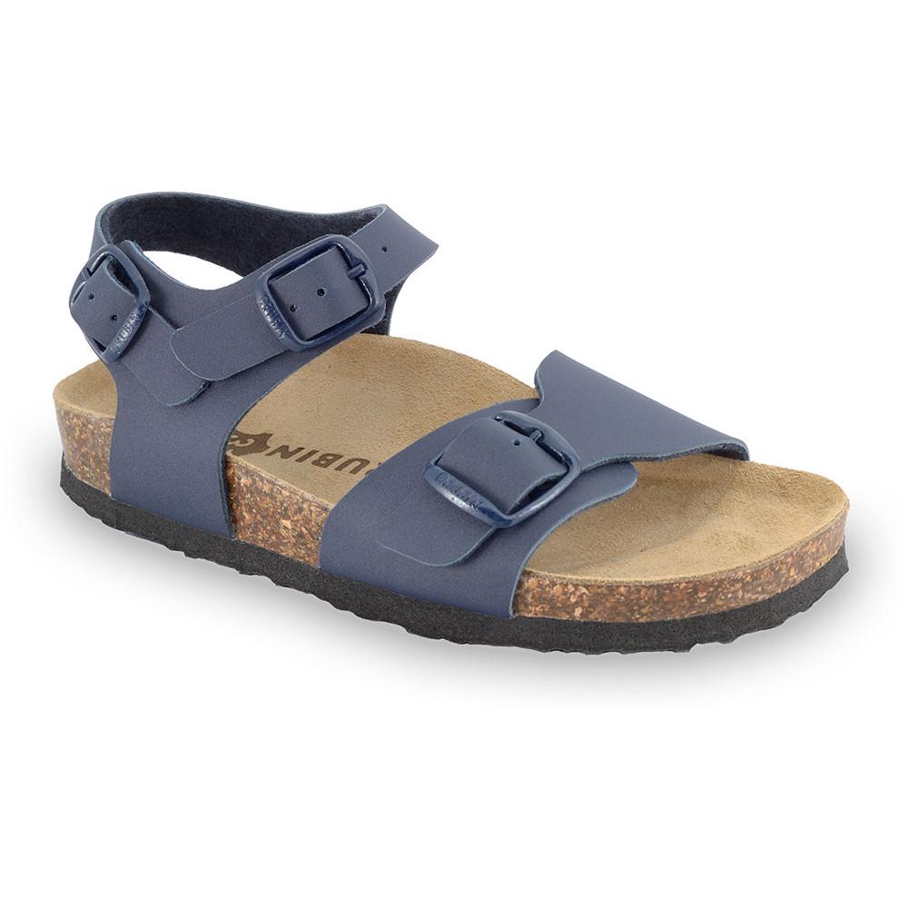 ROBY sandały dla dzieci - sztuczna skóra (30-35) - niebieski, 32
