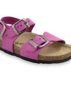 ROBY skórzane sandały dziecięce-welur (30-35)
