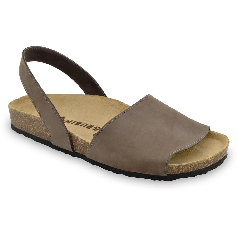 BOSS sandały dla mężczyzn - skóra nubuk (40-49) - brązowy, 45