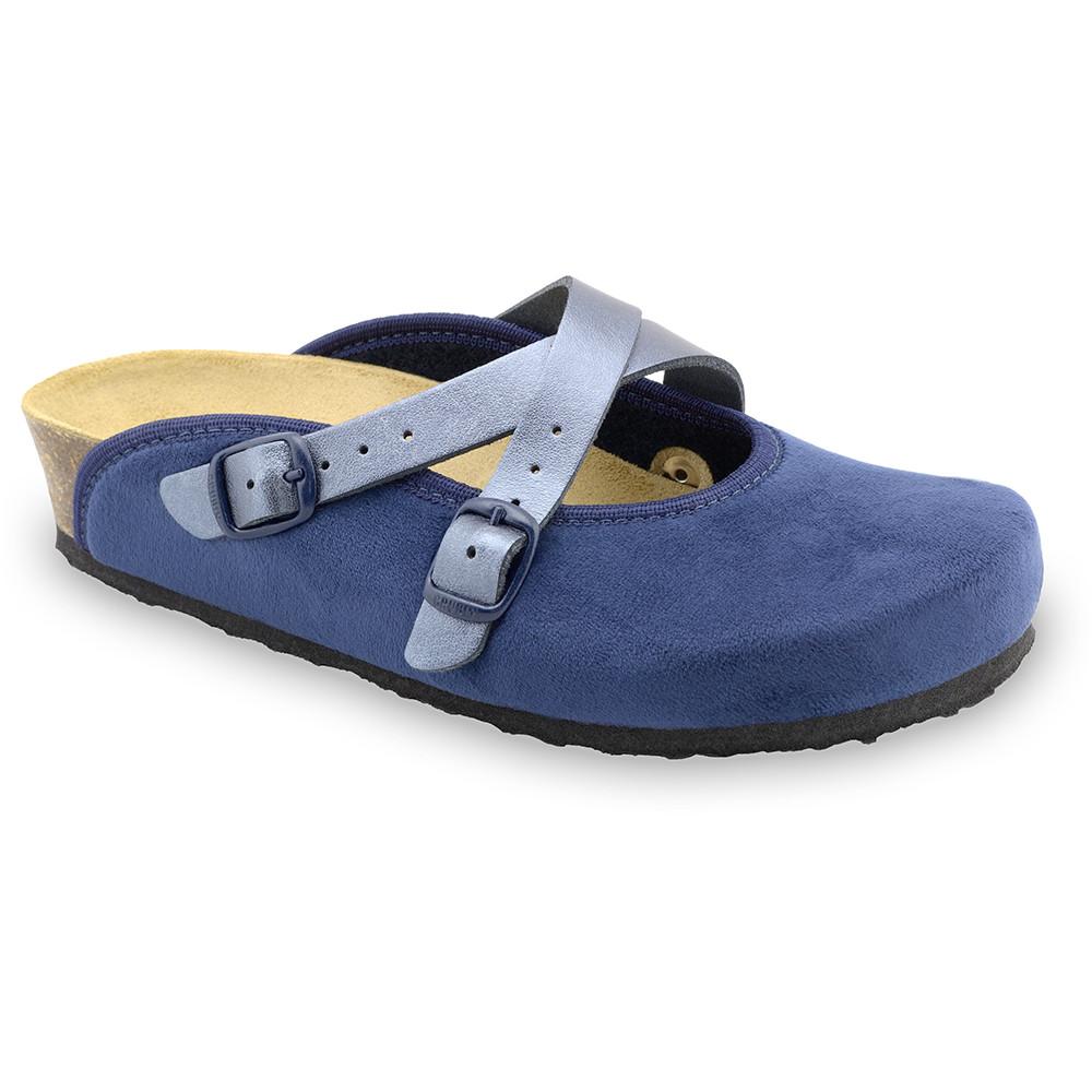 AFRODITA domowe zimowe buty damskie - plusz (36-42) - niebieski, 39