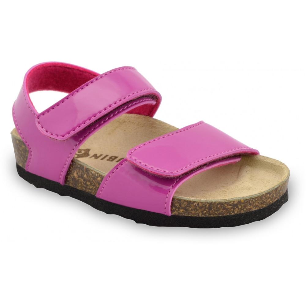 DIONIS sandały dla dzieci - sztuczna skóra (30-35) - różowy, 33