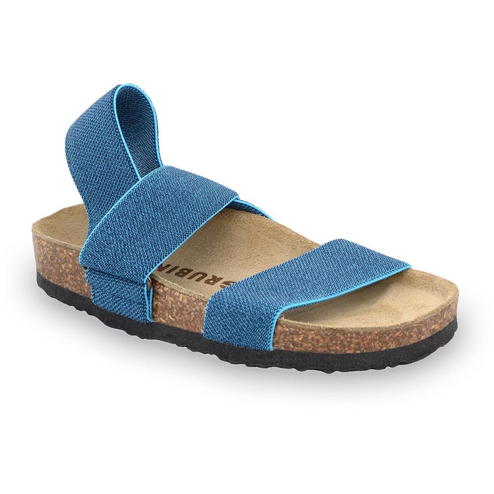 RAMONA sandały dla dzieci - tkanina (30-35) - niebieski, 35
