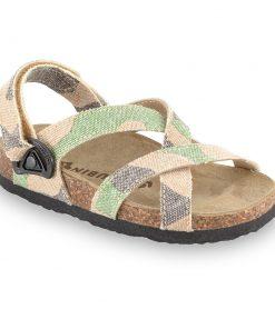 PITAGORA sandały dla dzieci - tkanina (23-29)