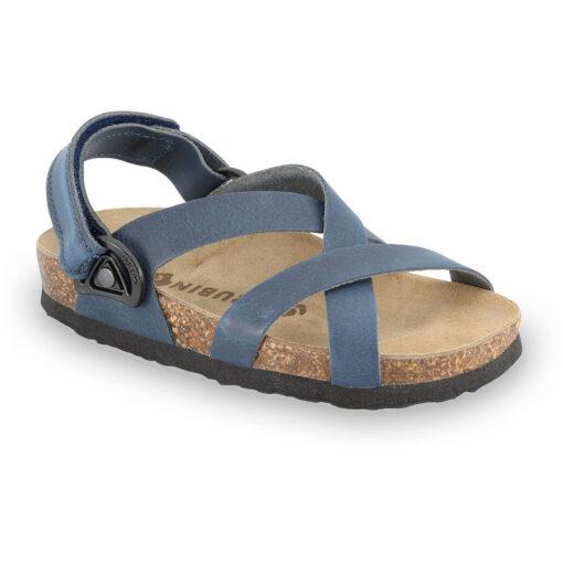 PITAGORA sandały dla dzieci - skóra nubukowa (23-29)