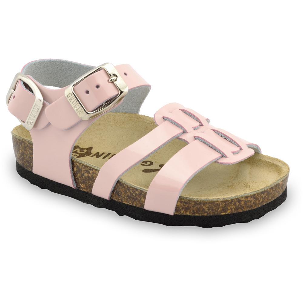 HRONOS sandały dla dzieci - skóra (23-29) - kremowy, 27