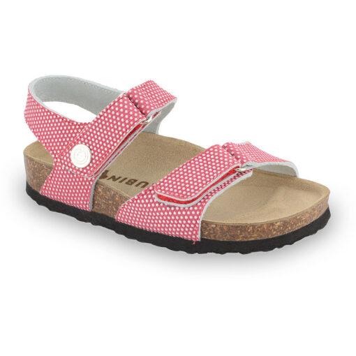RAFAELO sandały dla dzieci - skóra nubuk (23-29)