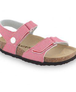 RAFAELO sandały dla dzieci - skóra nubuk (30-35)