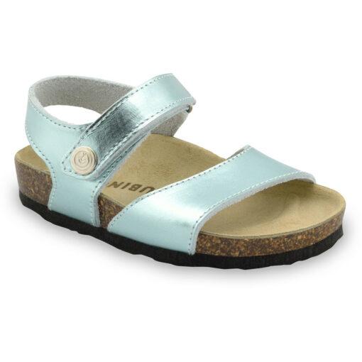 LEONARDO sandały dla dzieci - skóra (23-29)