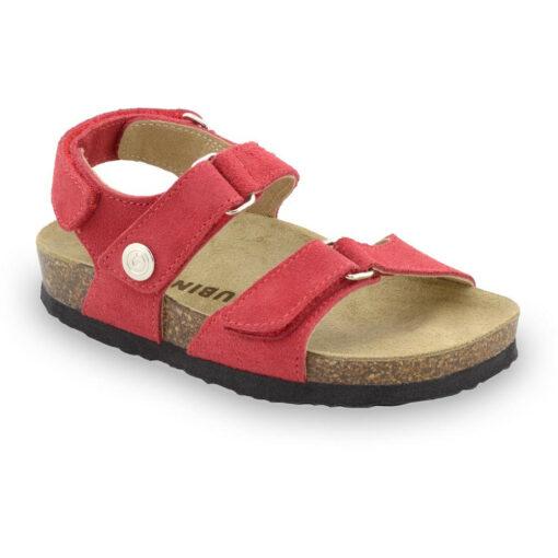 DONATELO sandały dla dzieci - zamsz (23-29)