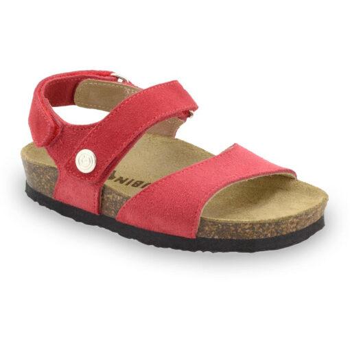 EJPRIL sandały dla dzieci - skóra nubuk (23-29)