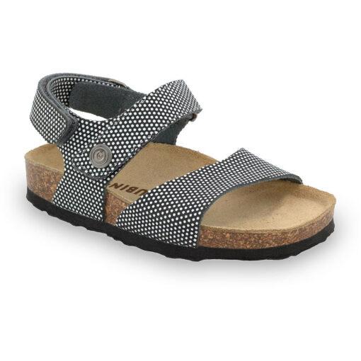EJPRIL sandały dla dzieci - skóra nubuk (30-35)