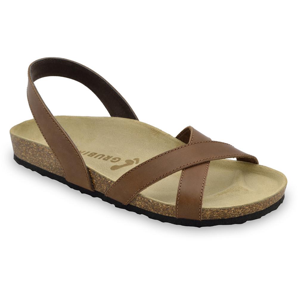 CHUCK sandały dla mężczyzn - skóra (40-49) - brązowy, 46