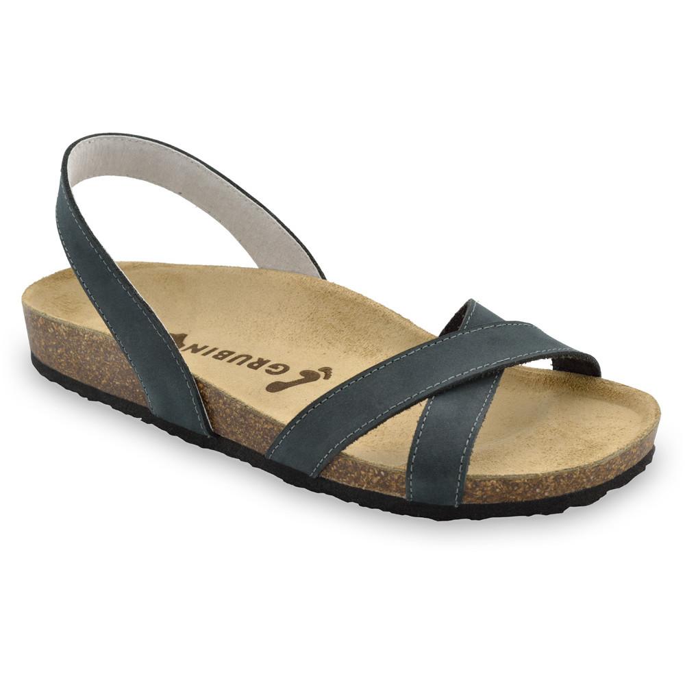 CHUCK sandały dla mężczyzn - skóra (40-49) - ciemnoszary, 41