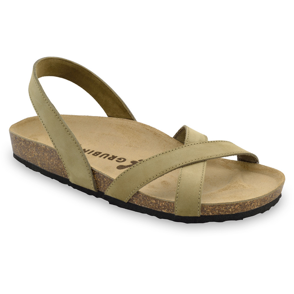 CHUCK sandały dla mężczyzn - skóra (40-49) - kremowy, 40
