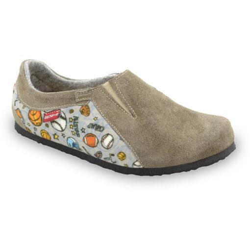MOSCOW domowe obuwie zimowe dla dzieci - plusz (30-35)
