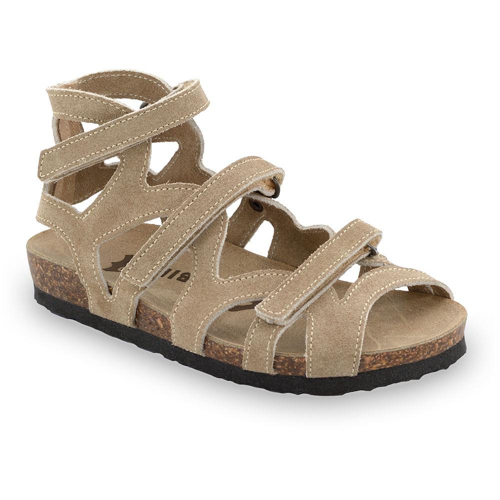 MERIDA sandały dla dzieci - skóra (25-29) - brązowy, 29